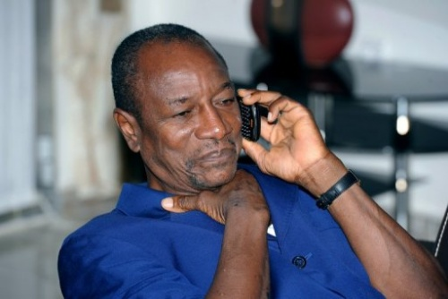 Guinea President Conde's residence attacked