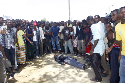 Police block commemoration of Mongu killing