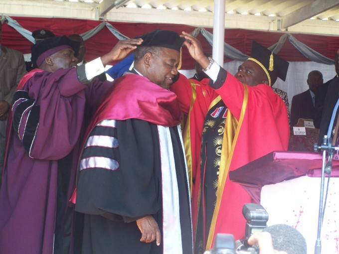 RB confered with honorary doctorate degree