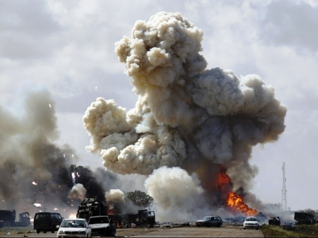 Gaddafi says Tripoli will burn and he will stay till the end