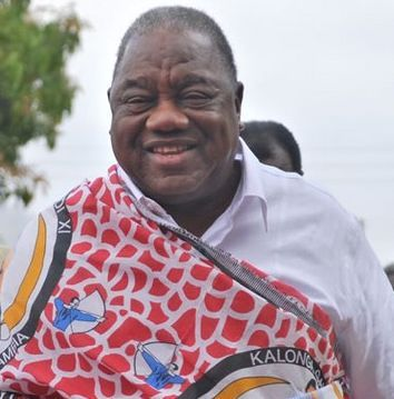 President Banda votes from Chipata