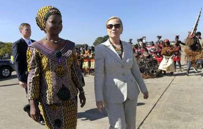 Hillary Clinton wishes Zambians well on independence