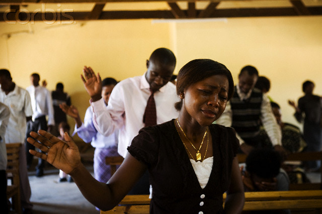 Zambia – Life on the border – Weeping in a Pentecostal church
