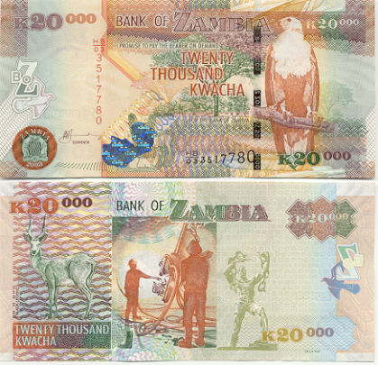 Giesecke and Devrient started printing Kwacha notes in Mwanawasa regime