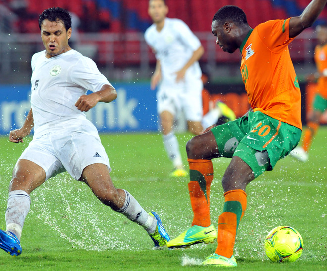 Zambia v. Libya: Was the rain and the Ref to blame?