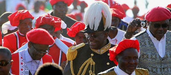 Barotseland Constitution 2012 out