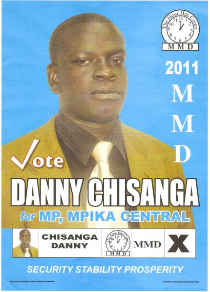 MMD Mpika losing candidate in 2011 opts for greener pastures in PF