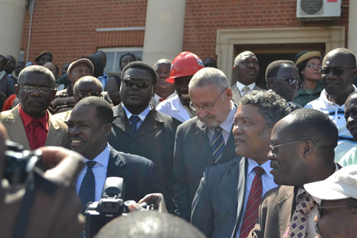 Sata signs protocol making Kabimba number three in govt hierarchy