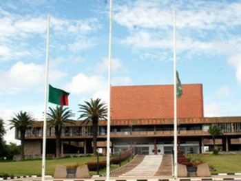 National Assembly building, Lusaka. Picture courtesy of Zambian Watchdog