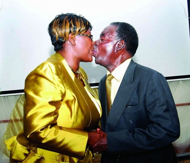 Photo of the day: presidential 'One love kwasila'
