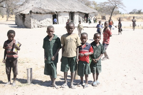 Here is what schools in Shangombo look like