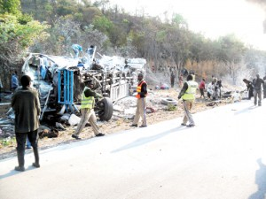 Police: 870 have died in road accidents in 2012 alone
