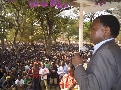 Now UPND goes for country-wide rallies