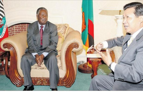 Flashback: I'm not ashamed to deal with Taiwan, Zambia is aprovince of China, says Sata