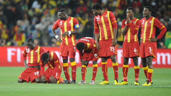 Ghana players unhappy over 'unfair' FIFA boardroom points to Zambia