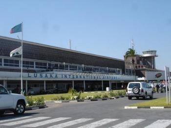 Zambia's main airpot plunged in darkness
