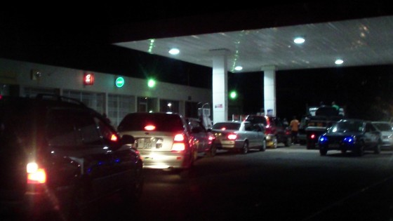 Chipata motorists not sleeping searching for fuel