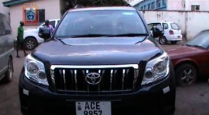 Allergic to corruption: Musenge's GRZ vehicle was disguised for Mufumbwe elections