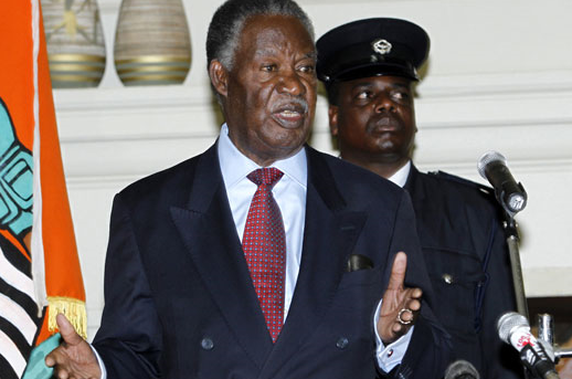 State house security accused of trying to assassinate Sata