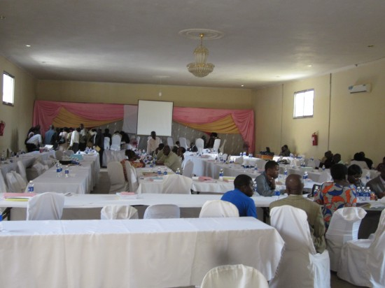 Kabwe delegates to constitution making leave meeting after getting allowances