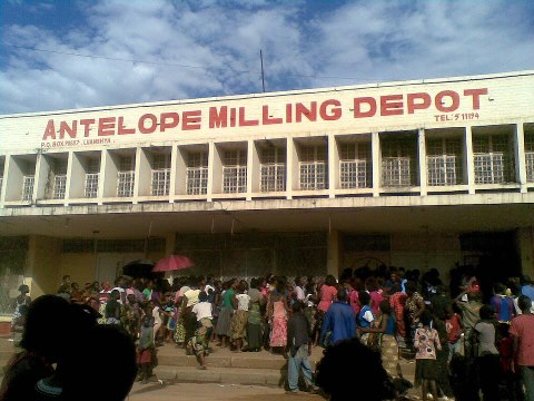 CB residents continue to queue for mealie meal