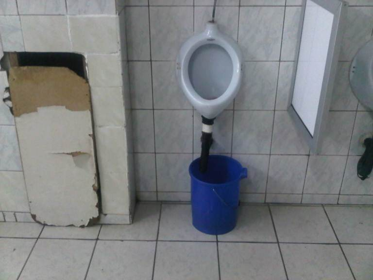 Photo of the day: toilets at Kenneth Kaunda airport