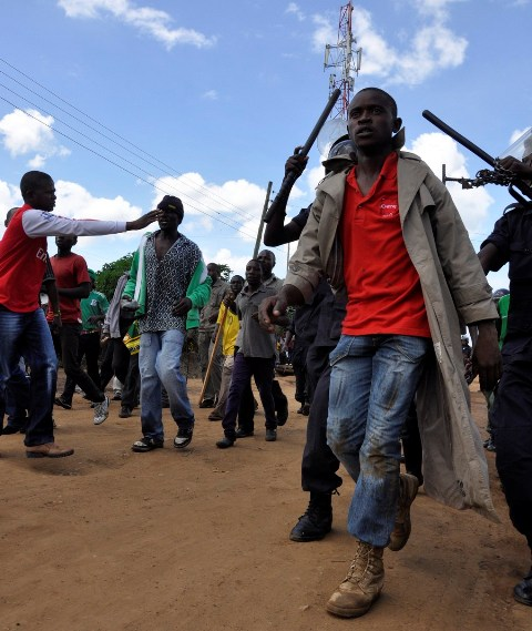 Photos of the day: PF terrorists on UPND rally
