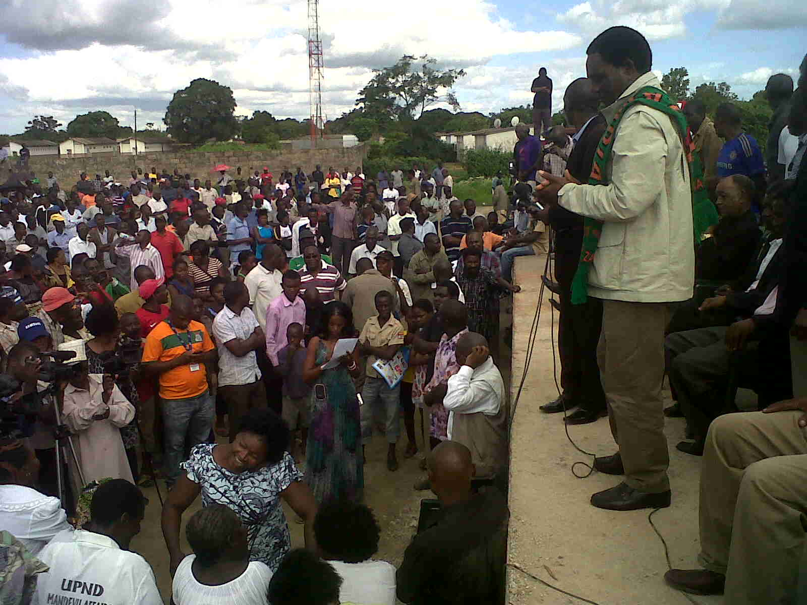 HH declares successful rally victory for democracy, calls on Zambians to rebase PF in 2016