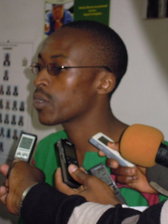 Hapunda was expelled from UNZA for leakages