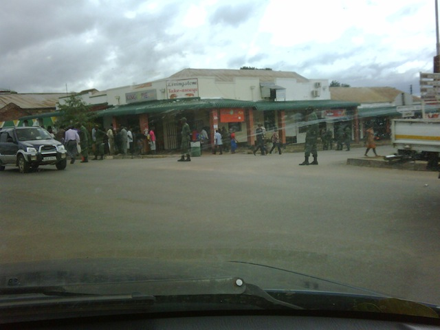 Police in Livingstone 2-1