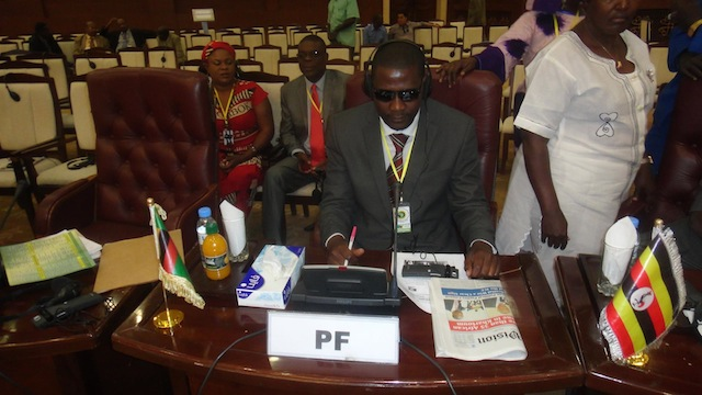 Photo of the day: Post reporter or PF official?