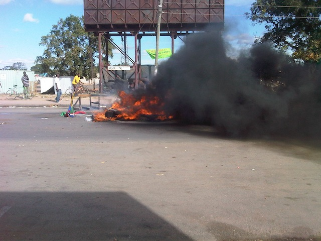 Riots break out in Choma over murdered taxi driver