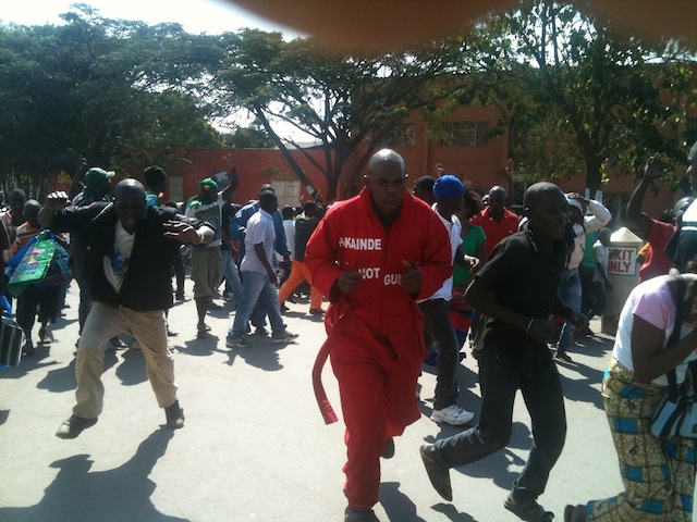 Mobbed by call-boys, HH continues preaching on Copperbelt