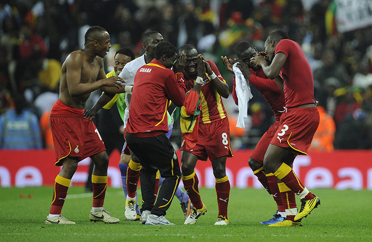 Ghana move above Zambia in World Cup qualifiers after win over Lesotho