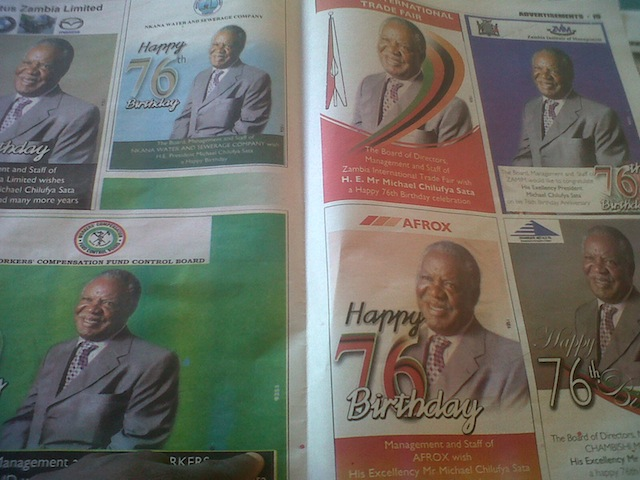 Only photos of Sata seen on his birthday