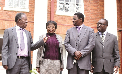 State House releases Photos to show Sata is alive but no 'voice'