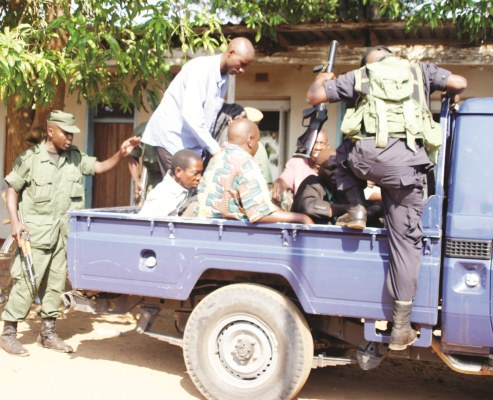 Barotse activists face death as they are charged with treason