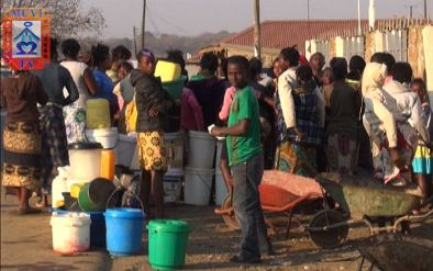 Four days no water in Kalingalinga