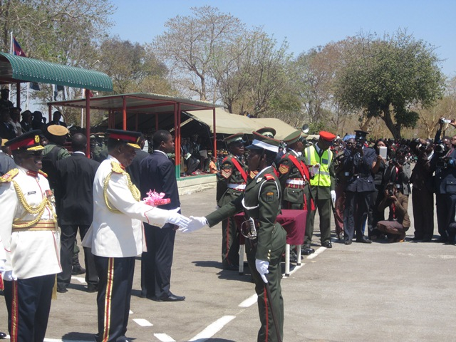 Sata regrets there is no war in Zambia, tells commander to send soldiers to war