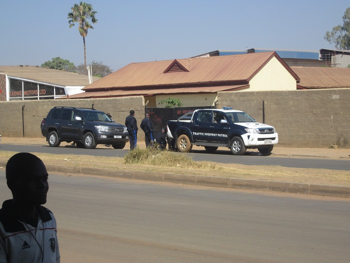 Police boss Libongani in near road mishap, police celebrate