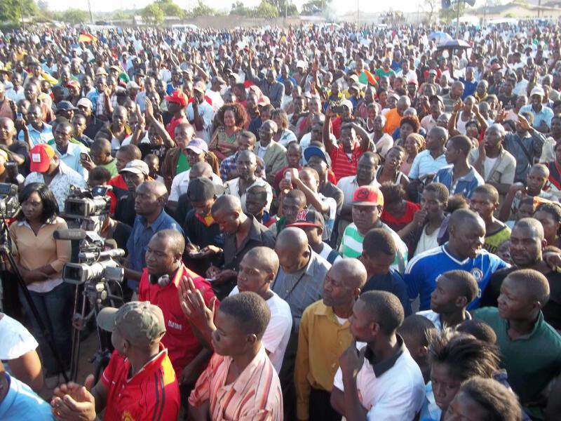 Photos of the day: UPND rally in Mandevu on Sunday