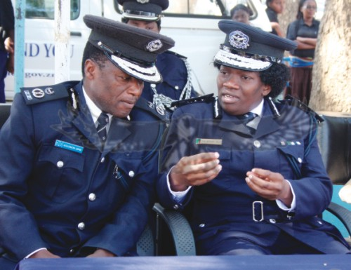 'Even police officers are not enough'