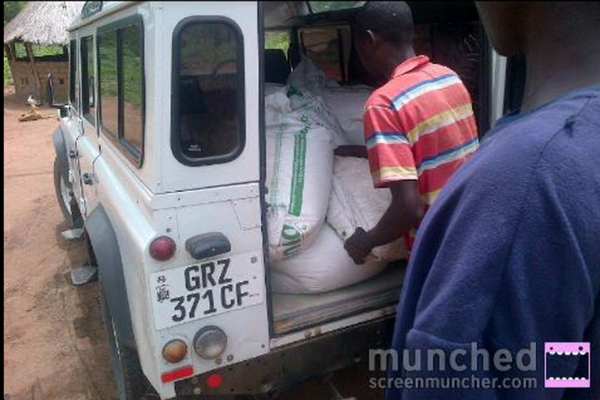Photo of the day, DC using govt vehicle on his farm