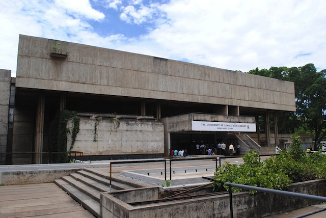 Main library at UNZA