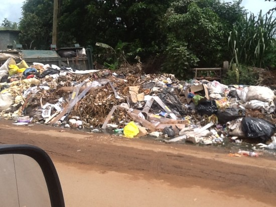 Garbage in our compounds