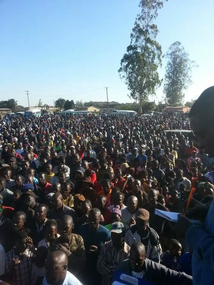 UPND Mandevu rally in pictures