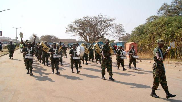Stolen explosives from porous Zambia army armoury explode, as three officers nurse serious wounds