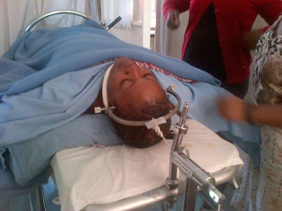 Sata evacuates his son leaving late Mwanawasa's niece in critical condition after same accident