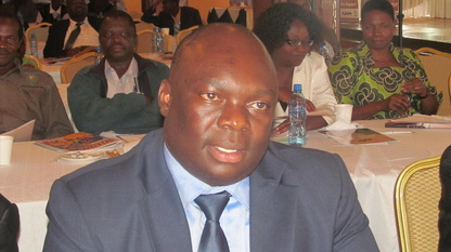 Amos Malupenga cries after being warned and cautioned over corruption