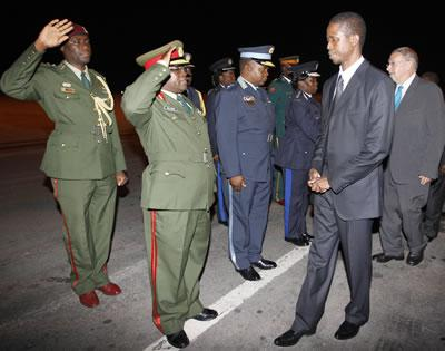 Commanders take over presidential decision making
